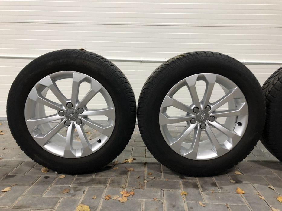 Alufelgi koła aluminiowe AUDI Q3 Q5 + opony 235/60r18!!! Wałbrzych - image 1