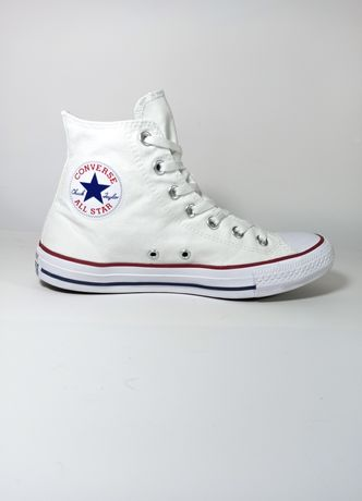 Кеды Converse All Star White|  Высокие белые vans adidas puma nike 39