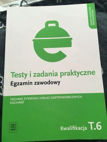 Testy i zadania praktyczne egzamin zawodowy technik żywienia i usług