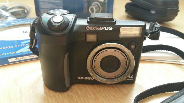Фотоаппарат OLYMPUS SP-350+ чехол жесткий в подарок