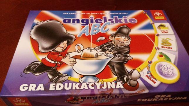 Gra edukacyjna pamięciowa Angielskie ABC