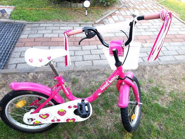 """Rower dziecięcy dla dziewczynki 16"""""""