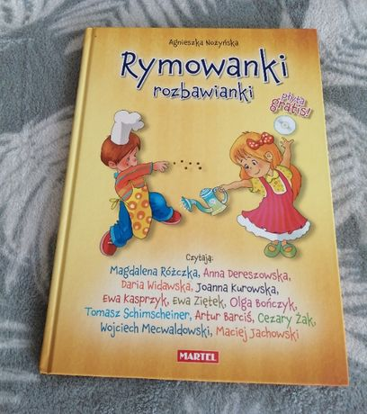 książka Rymowanki Rozbawianki A. Nożyńska NOWA
