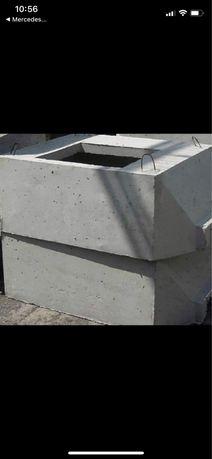 Studnia kablowa betonowa