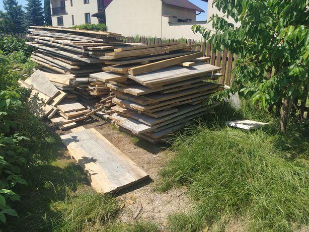 Drewno, deski szalunkowe