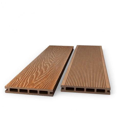 Deska kompozytowa 3D PREMIUM szczotkowana drewno nat. 14,59 zł netto/m