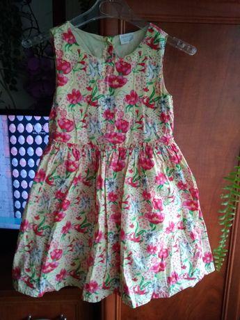 Sukienka roz 116