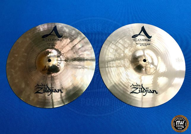 "Zildjian - talerze A Custom Medium Hi-hat 14"""