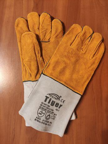 Rękawice spawalnicze, grube