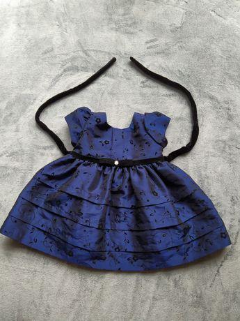 Sukienka balowa dla dziewczynki 12 miesięcy firmy Rosenau