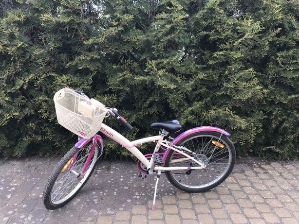 """Rower uniwersalny original 500 24"""" dla dziecka bitwin"""