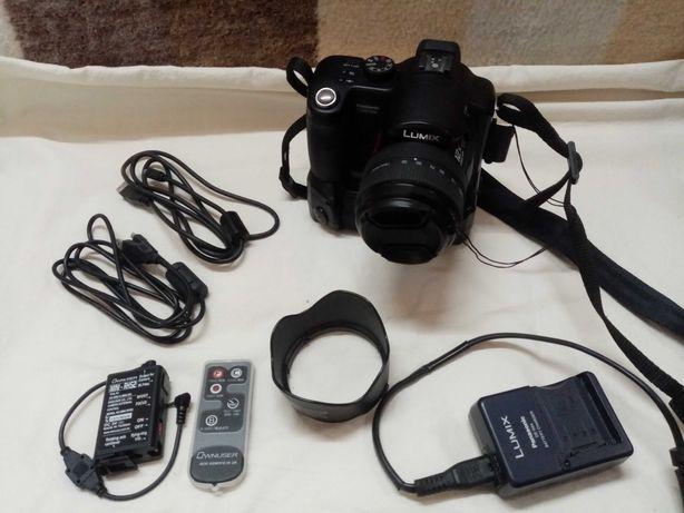 Aparat Panasonic Lumix DMC-FZ50 czarny dużo dodatków filtry