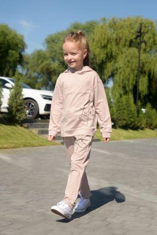 Модный спортивный костюм на девочку р. 116, 122, 128