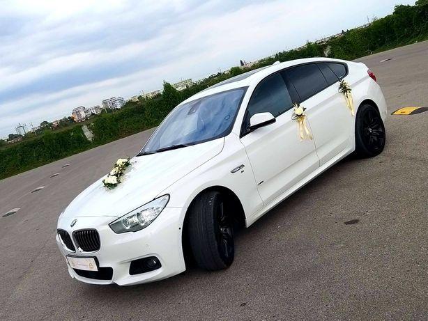Auto do ślubu BMW GT5 535d M PAKIET