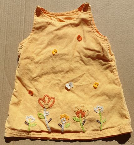 vestido de menina Pré_Natal 6 meses