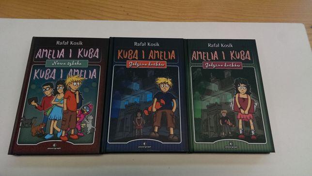 Amelia i Kuba ( w trzech Tomach ) Kosik Rafał