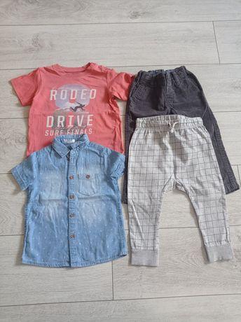H&m Pakiet ubrań chłopięcych r. 86