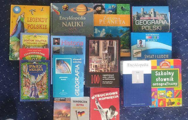 Książki słowniki encyklopedie