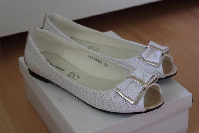 Białe balerinki rozmiar 39