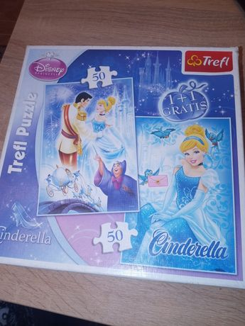 Puzzle Trefl z bohaterami bajek Disney'a