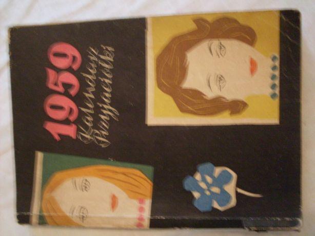 Kalendarz przyjaciółki 1959 rok