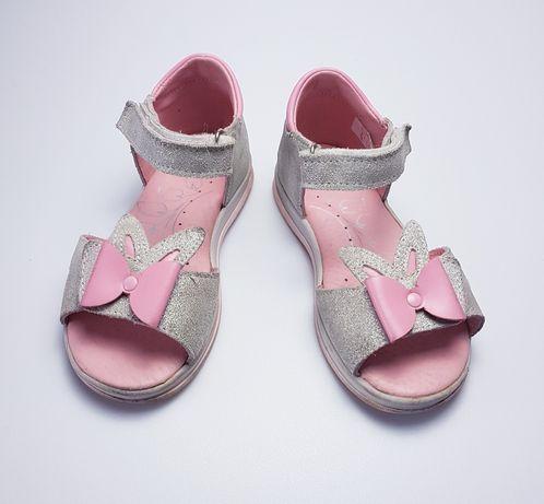 Sandałki dziewczęce RenBut r. 27