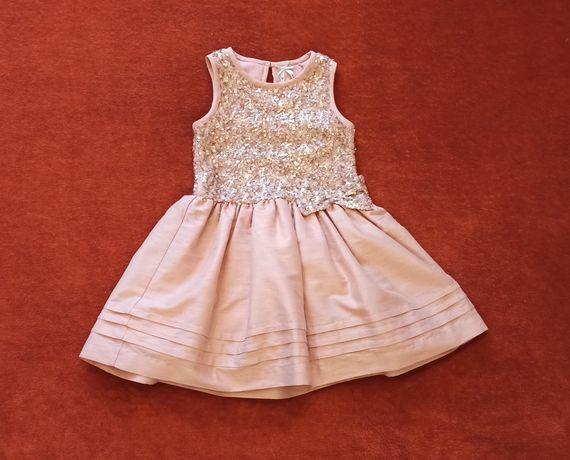 Нарядное платье Next для девочки 4х лет