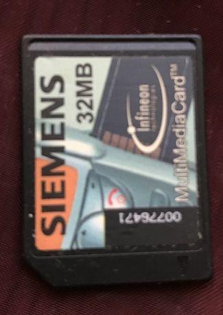 Siemens Oryginalna karta pamięci