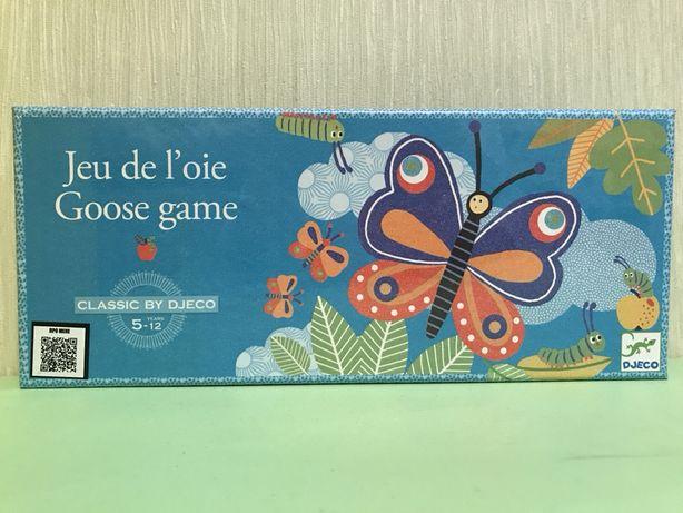 Настольная игра Djeco «Из гусеницы в бабочку#Гусёк»