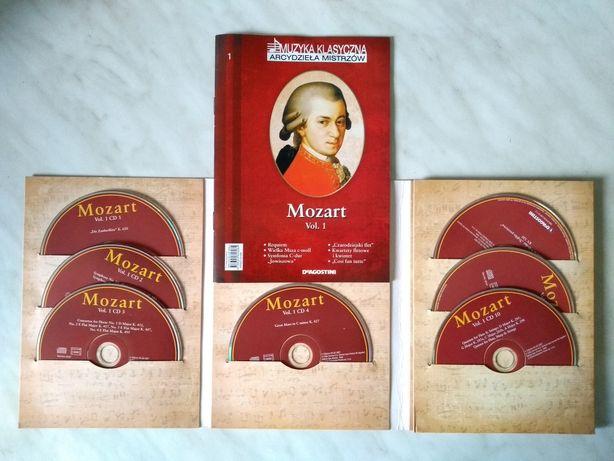 Dzieła Mozarta CD -10 płyt