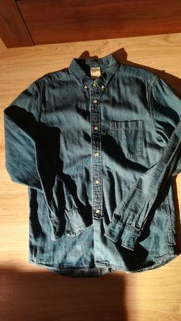 Koszula dżins, jeans, H&M