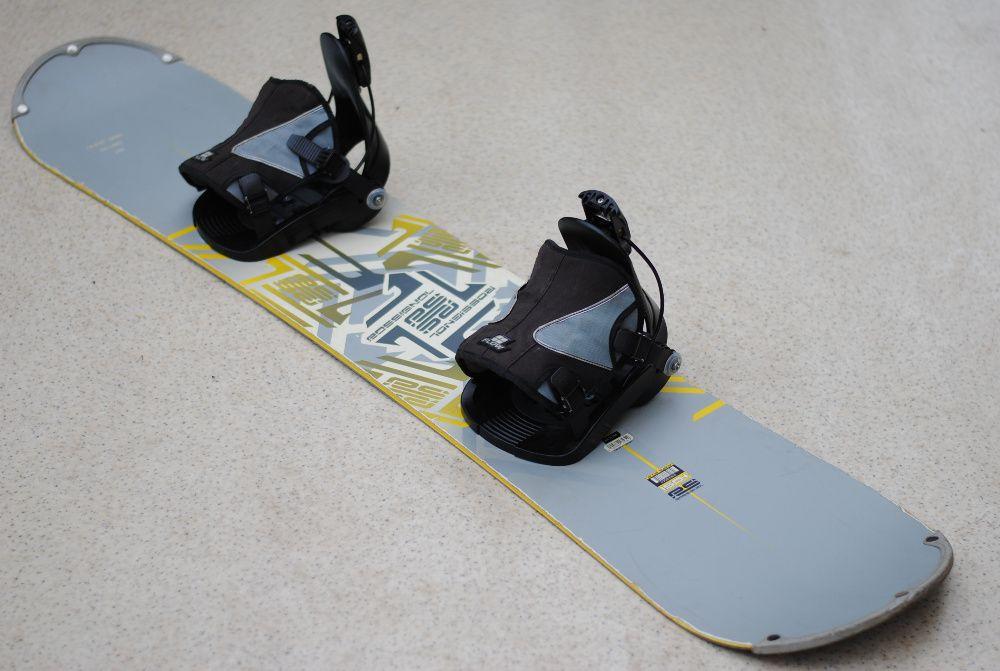 Deska snowboardowa Rossignol 150 cm wiązania Flow Ścinawa - image 1
