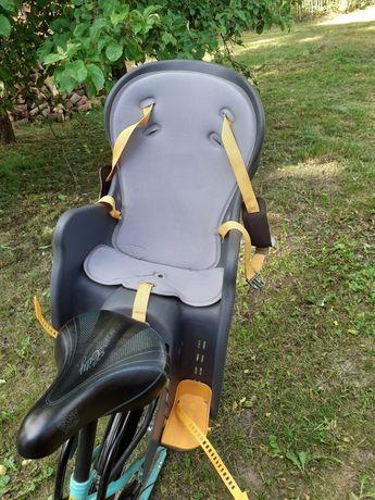 Fotelik na rower z funkcja pochyłu do tyłu