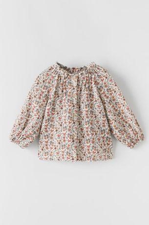 Koszula w kwiaty Zara roz.110 nowa