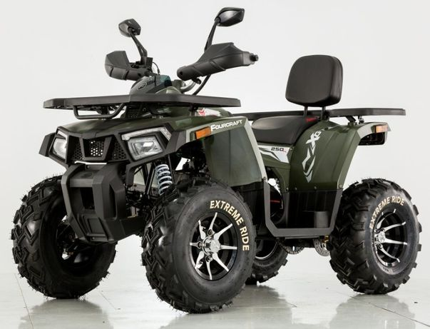 Quad 250 cc Tao Fourcraft Mega Mocny bashan koła 10 Lublin