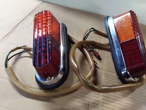 Warszawa Pick-up, 203p, 204p, Syrena nowe lampy, kierunkowskazy tył