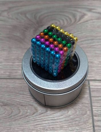Конструктор неокуб неокубик магнитные шарики, конструктор 216 5 мм