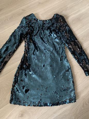 Платье Zara в пайетки, платье, плаття, сукня, паетки, паєтки
