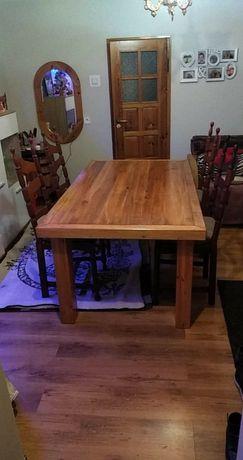 Stół z olchy(bez krzeseł)