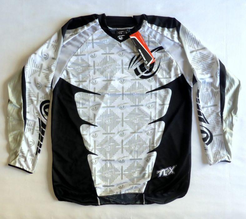 T-shirt camisola DRENALINE enduro motocross nova tamanho XL Campanhã - imagem 1