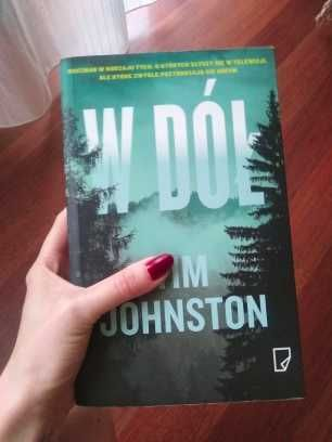 Tim Johnson W dół kryminał książka Thriller