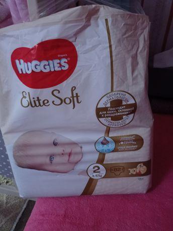 Подгузники Huggies Elite Soft 2 размер