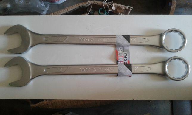 Ключ рожково накидний YATO 55мм та ТОР ТUL 55мм