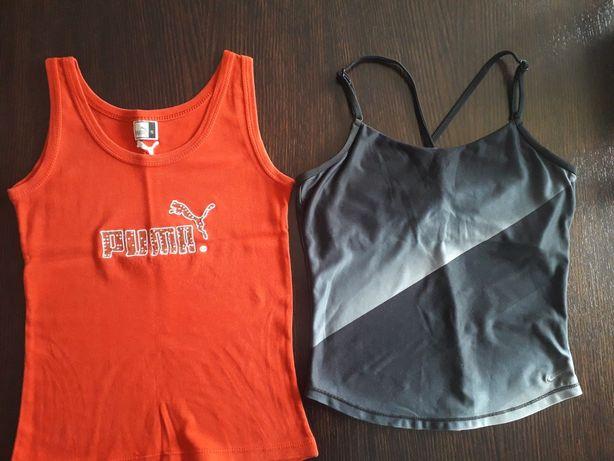 Koszulki Puma i Nike rozm.S
