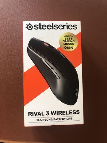 Mysz steelseries Rival 3 wireless