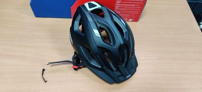 #89 Велосипедный шлем Abus ADURO 2.0 Race Black S 51-55 см