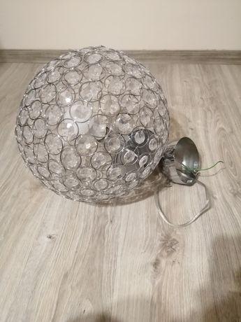 Lampa Żyrandol z kryształkami