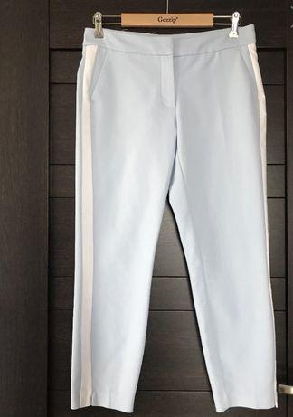 Spodnie cygaretki z lampasem r. 38