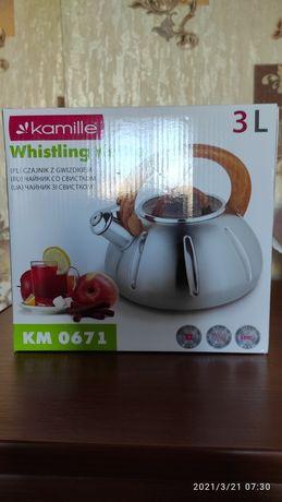 Чайник Kamille 3L