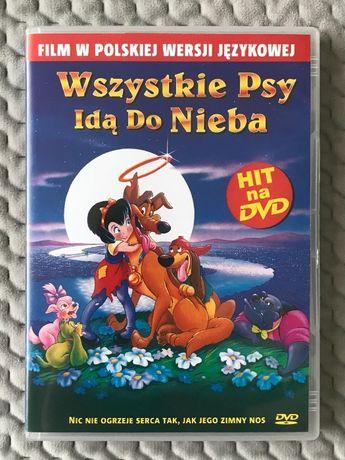 """""""Wszystkie psy idą do nieba"""" - bajka DVD (polski dubbing) UNIKAT!!!"""
